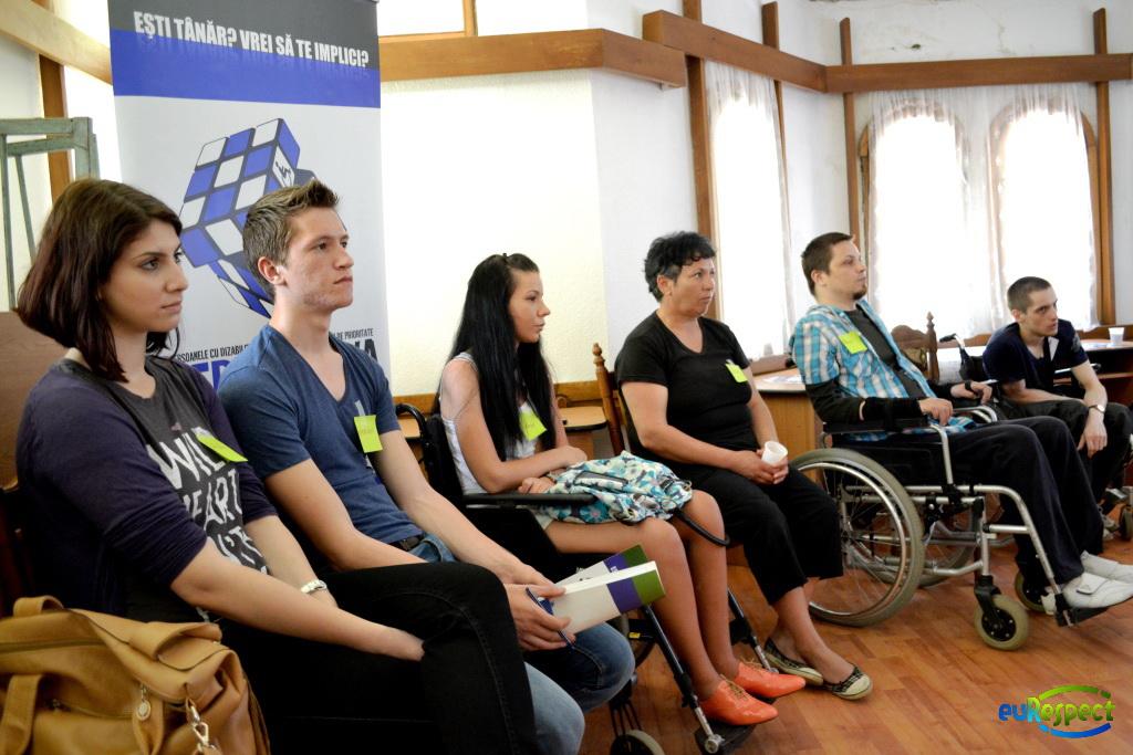 Workshop: Percepţia publicului asupra persoanelor cu dizabilităţi