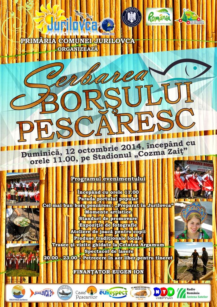 euRespect la Jurilovca, la Serbărea Borşului Pescăresc