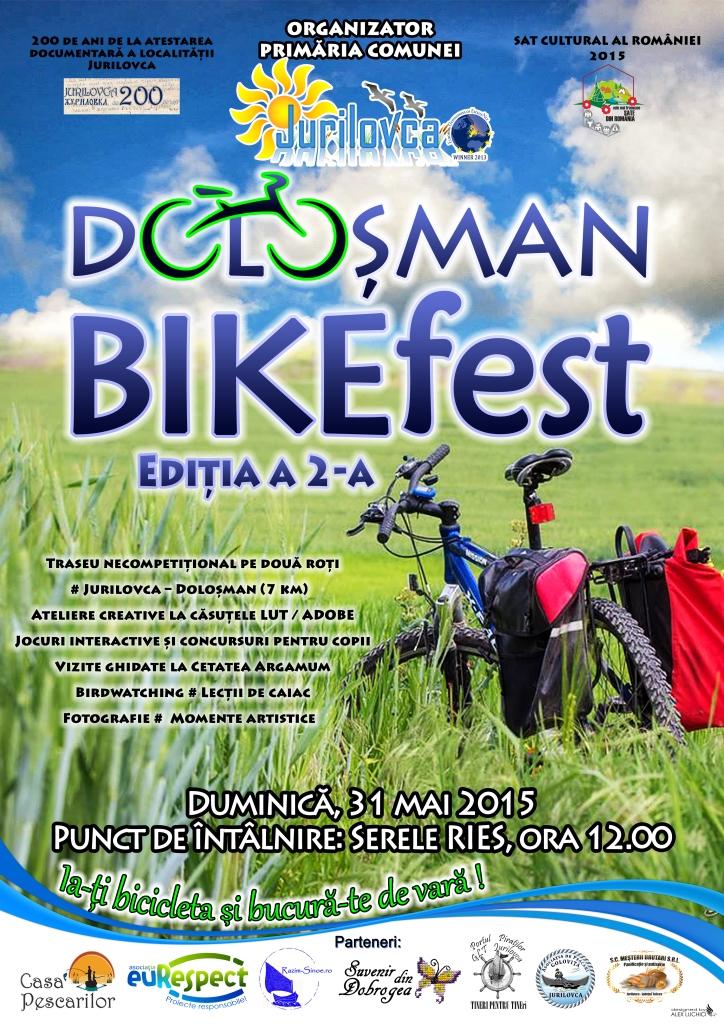 euRespect partener la Doloşman BIKEfest | Jurilovca – Tulcea