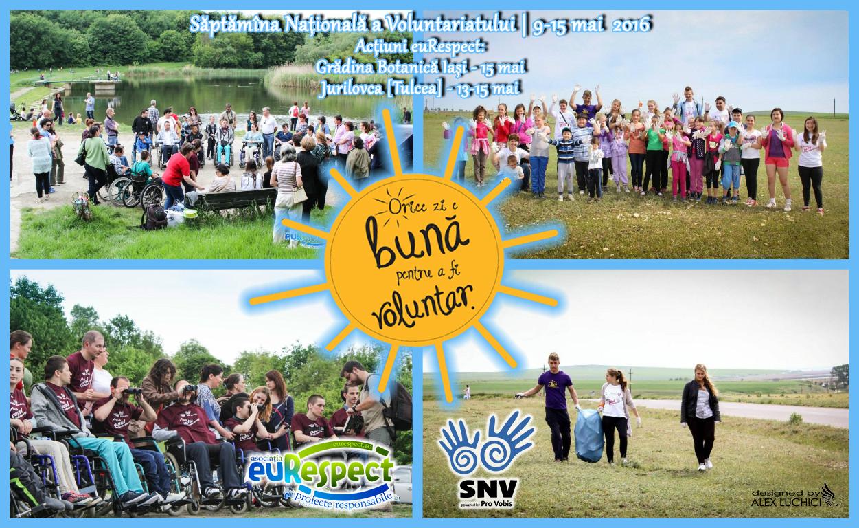 A început Săptămîna Naţională a Voluntariatului!