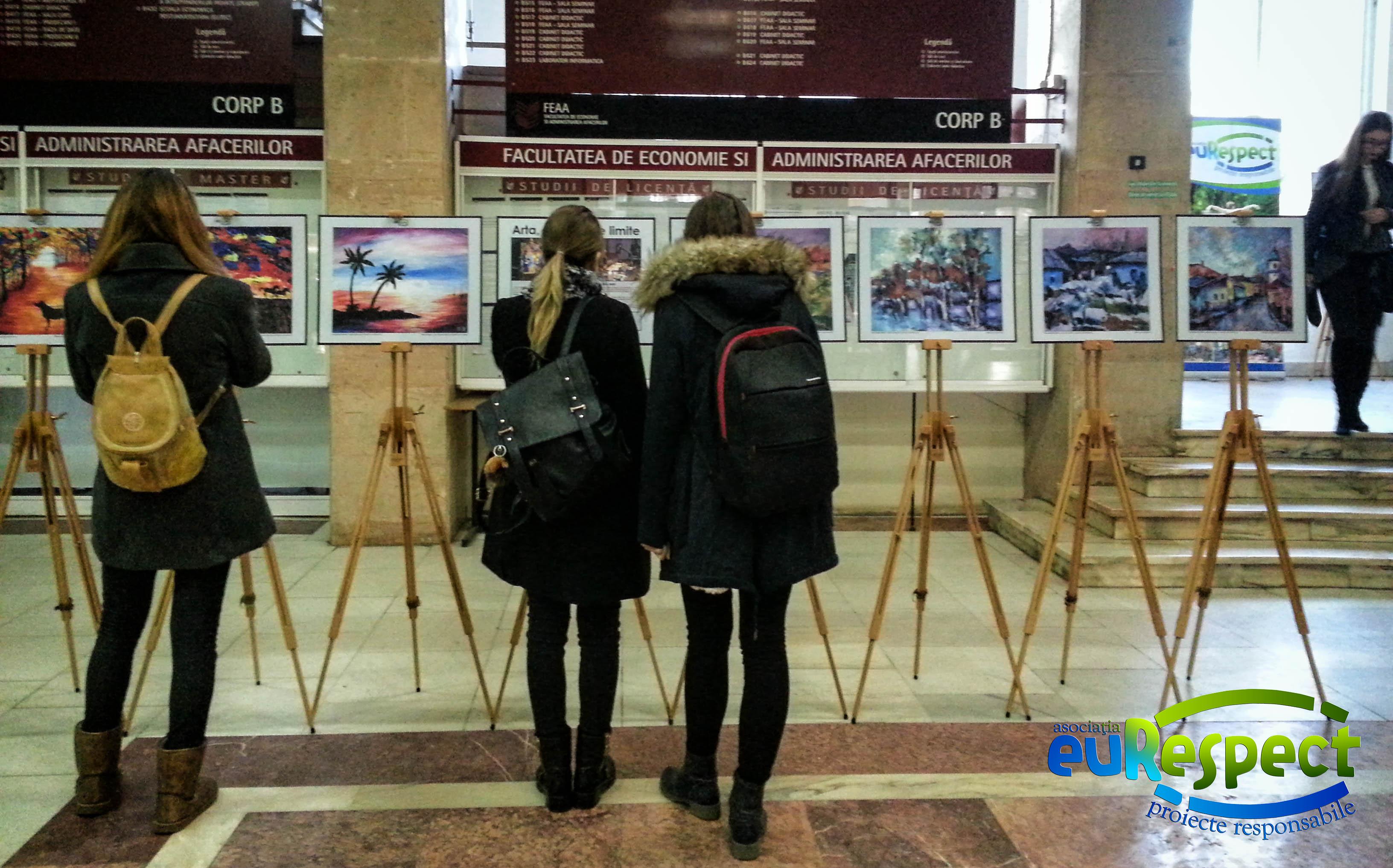 "Expoziția ""Arta, dincolo de limite"" la Universitatea ""Al. I. Cuza"" Iași"