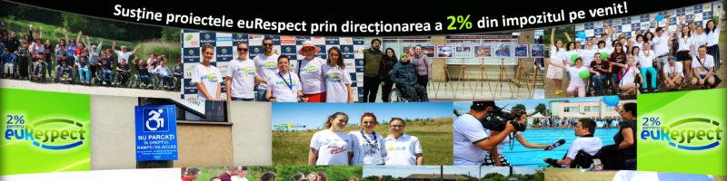 Susține proiectele euRespect prin direcționarea a 2% din impozitul pe venit!