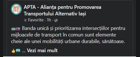 Pași înainte pentru mobilitatea sustenabilă în Iași